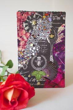 """Altered Art Journal: Hand-Bound, Hand-Embellished Journal & Sketch Book—""""Nature Medicine"""""""