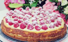 Mothersday Cheesecake My Recipes, Cheesecake, Pizza, Food, Cheese Pies, Cheesecakes, Meals, Yemek, Cherry Cheesecake Shooters