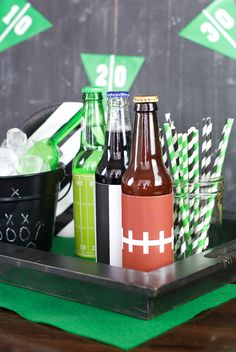 Tweet Pin It January can be a bleak month, but there's plenty of opportunity to throw a football party with the football playoffs happening now and then the Big Game coming soon! (And seriously, whether you like football or not, you've got to love the food and the cute party ideas right?!) We've got a...Read More »