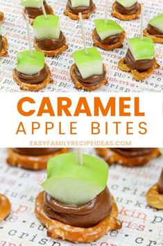 Caramel Apple Bites Recipe Easy Fall Snack Idea - Easy Family Recipe Ideas Can an apple cider vinegar each day keep carefully the doctor away? Healthy Apple Desserts, Apple Snacks, Fall Snacks, Christmas Snacks, Baking Desserts, Caramel Apple Bites, Caramel Apples, Orange Caramel, Fall Dessert Recipes
