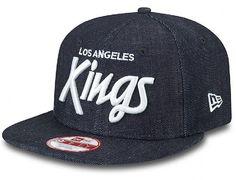 Denim LA Kings Original Fit 9FIFTY Snapback Cap by NEW ERA x MLB