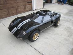 Super sleek, super custom 1/2 scale Ford GT 40 Go-Kart, expertly hand crafted by McLaren Classic Restorations - Barrett-Jackson Auction Company - World's Greatest Collector Car Auctions