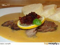 Divoké srnčie na smotane - divina Beef, Recipes, Food, Meat, Essen, Meals, Ripped Recipes, Yemek, Eten