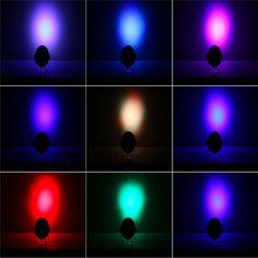 Prima de Luces DEL Escenario LED 18 RGB LED PAR DMX Etapa Efecto de iluminación DMX512 Master-Slave Led Plana para el Partido Del Disco de DJ KTV