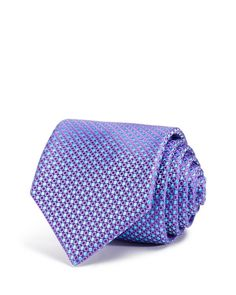 Ted Baker Open Close Circle Neat Classic Tie