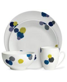 Vera Wang Wedgwood Dinnerware, Ikat Collection - Fine China - Dining & Entertaining - Macy's