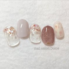 Pin by Michelle Nguyen on Nails II in 2019 Bridal Nails, Wedding Nails, Nude Nails, My Nails, Manicure And Pedicure, Mani Pedi, Nail Bags, Short Nails, Nail Inspo