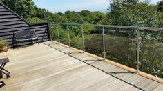 Our Glass Balustrade Products - South Coast Steel - Sussex Architectural Fabricators Stainless Steel Railing, Glass Balustrade, Decking, Balcony, House Ideas, Lights, Architecture, Outdoor Decor, Home Decor