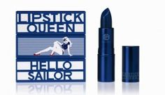 Lipstick Queen | Hello Sailor. My new favorite product. Looks blue, ends up a lovely berry stain.
