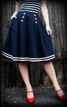 Rumble59 Ladies - Tellerrock - Ahoi Sailor!