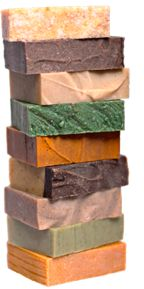 """Organic Soaps for every skin type.  """"Medicine man"""" is my favorite for the face"""