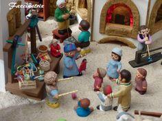 . Navidad Ideas, World, Births, Cat, Miniatures, Spain