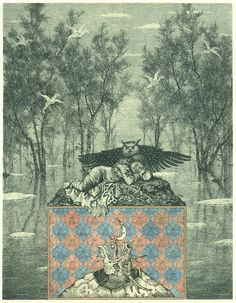 A BOOK OF ETCHINGS BY KONSTANTIN KALYNOVYCH