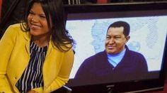 María Gabriela Chávez, hija del fallecido presidente Hugo Chávez | Archivo