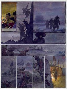 Khoa Vink watercolored page
