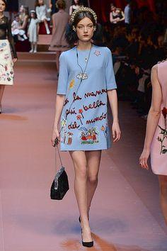 Dolce & Gabbana | Milão | Inverno 2016