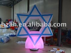 inflatable lighted star party decor with air blower Sale Only For US $180.00 on the link
