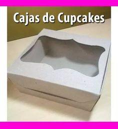 caja carton regalos,san valentin, cupcake,14 febrero, tortas