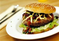 Børges heite burgere - Fitnessbloggen