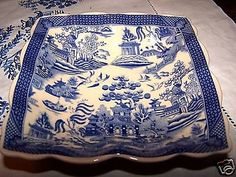 All Free Patterns | BLUE WILLOW PATTERN PLACEMATS