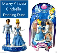 Disney Princess Cinderella Dancing Duet With Prince Charming Doll Toy Gift Set  - May 23, 2014 - $11.99 - #FreeShipping