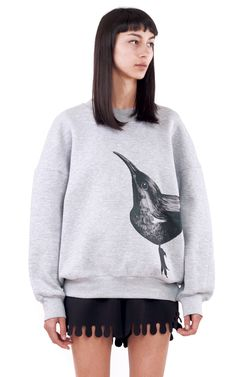 Ioana Ciolacu Official Site featuring ready to wear collections for women. Hoodies, Sweatshirts, Suit Jacket, Style Inspiration, Sweaters, Jackets, Crow, Shopping, Creatures