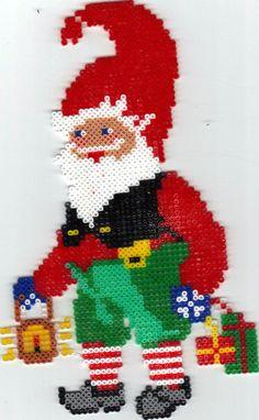 Christmas hama perler beads by Dorte Larsen