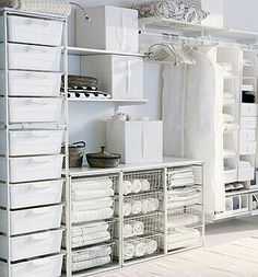 Laundry room, closet, craft closet, and so on and so on and so on... Ikea
