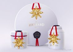 Badiane Hédiard, Collection packaging Noël Etoilé 2012. édition limitée. delatour design.