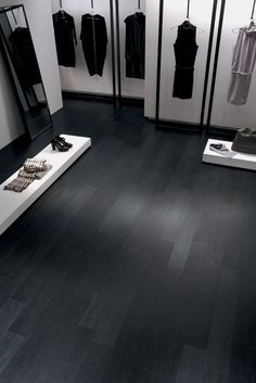 Minoli Tiles Doga A Brilliant Solution For Black Warm Floor Wood Look