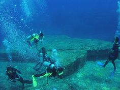Most Mysterious Places on Earth...Yonaguni Monument, Underwater Ruins, Japan