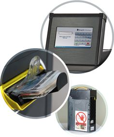CUBE: Smarter Einzahlungsautomat  Geld einzahlen wird mit dem CUBE einfach und sicher. Die Tageseinnahmen können fortlaufend oder nach Kassenabschluss im Einzahlunsautomat eingezahlt werden.