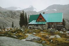 Battle Abbey Mountain Hut accessible by helicopter from Golden, British Columbia. Contributed by Brittany Staddon.