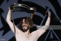 Chris Cornell of Soundgarden performs on stage at Big Day Out 2012 at the Sydney Showground on January 26, 2012 in Sydney, Australia.
