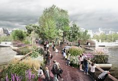 London garden bridge project officially scrapped