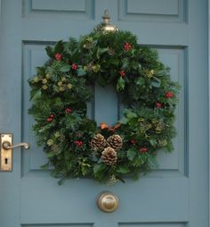 how to make a christmas wreath - Google Search