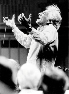 Leonard Bernstein, foto Paul de Hueck. I get to do one of his shows!