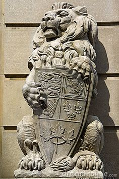 The lion watches over the entrances to the home - the door, windows, and any opening.  Its protection is a symbol of potential if needed, and we encourage a calm lion to welcome visitors.