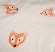 Baby Blanket  Swaddle Blanket  Fox  Orange by SimplySwaddleMe, $8.50