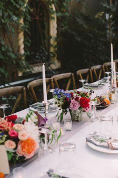AN ELEGANT ANNIVERSARY GARDEN DINNER PARTY