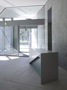 Design Sight, Minato, Tokyo designed by Tadao Ando Tadao Ando, Office Interior Design, Office Interiors, Interior Design Inspiration, Modern Japanese Architecture, Space Architecture, Public Architecture, Restaurants, Tokyo Design