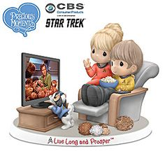"Precious Moments STAR TREK ""Live Long And Prosper"" Figurine"
