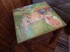"""Мебель ручной работы. Ярмарка Мастеров - ручная работа Табурет """"Очаровашка"""". Handmade."""