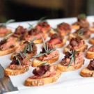 Try the Peppered Beef Tenderloin Crostini with Caramelized Onions Recipe on Williams-Sonoma.com