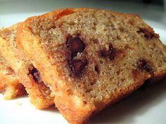 Chocolate Chip Banana Nut Bread Recipe - Easy & Best Healthy http://easybananarecipes.com/chocolate-chip-banana-nut-bread-recipe/