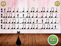 iPad Screenshot 2-You play through levels of rhythm patterns-Good for ALL grades