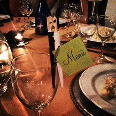 segnaposto matrimonio / wedding placeholder menu