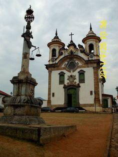 Mariana, estado de Minas Gerais, Brasil