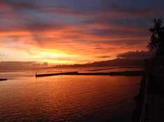 Sunset at Candidasa, BaLi, Looking forward to seeing this beauty again!