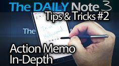 Samsung Galaxy Note 3 Tips & Tricks Ep. 2: In-Depth Look at Action Memo ...